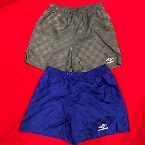(BUNDLE) Vintage umbro shorts